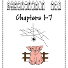 Charlotte&#039;s Web - Chapters 1 - 7 Packet