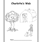 Charlotte's Web Novel Study for Grades 3 & 4