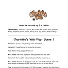 Charlotte&#039;s Web Reader&#039;s Theater