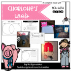 Charlotte&#039;s Web Unit { book study/math/craftivity }