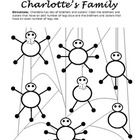 Charlotte&#039;s Web Worksheet: Odd and Even Numbers