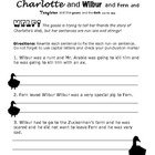 Charlotte&#039;s Web Worksheet: Run-On Sentences