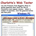 Charotte's Web Tester for Windows PC