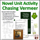 Chasing Vermeer Reading Comprehension Activity Guide