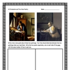Chasing Vermeer, by B. Balliett, Art Evaluation Activities