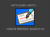 Check Writing Basics 101 (Powerpoint) For Elementary