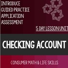 Checking Account Bundle (Full)- Special Education
