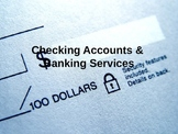 Checking Accounts PowerPoint
