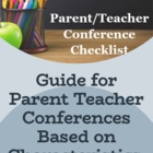 Checklists for P/T Conferences Based on Characteristics, N