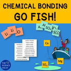 Chemical Bonding Go Fish &amp; Other Games, Ionic &amp; Covalent Bonds