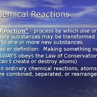 Chemical Reactions Celebrity Powerpoint