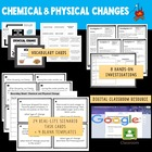 Chemical and Physical Change Science Activities (Winter Themed)