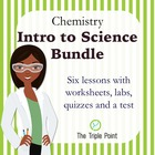 Chemistry: Intro to Science Unit Bundle