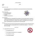 Chemistry Syllabus