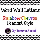 Chervon Word Wall Letters