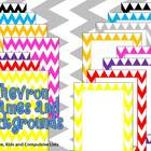 Chevron Backgrounds and Frames ~*FREE*~