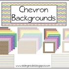 Chevron Backgrounds {clipart}