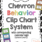 Chevron Classroom Management Behavior System [clip chart &
