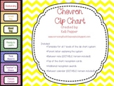 Chevron Clip Chart Editable Components