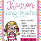 Chevron Decor Classroom Set