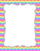 Chevron Doodle Frames {Commercial Use}