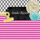 Grade Book {Editable} Chevron