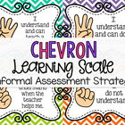 Chevron Learning Scale