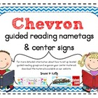 Chevron Nametags & Center Signs
