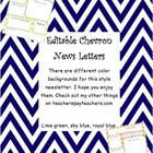 Chevron News Letter Template