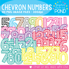 Chevron Numbers - Graphics From the Pond