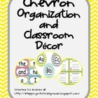 Chevron Organization and Classroom Decor