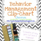 Chevron Positive Reinforcement Behavior Chart