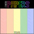 Chevron Rainbow Digital Papers {114 backgrounds for person