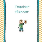 Chevron Teacher Planner Printables