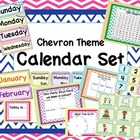Chevron Theme Calendar Set