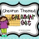 Chevron Themed Calendar Set