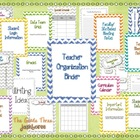 {Chevron Themed} Teacher Organization Binder