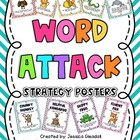 Chevron Word Attack Posters