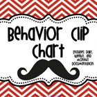 Chevron and Mustache Clip Chart Forms