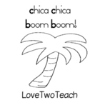 Chica Chica Boom Boom:  Literacy and Math Center Fun