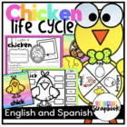 Chick Lifecycle {Craftivity and more in English and Spanish}