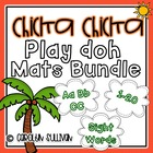 Chicka Chicka Boom Boom Play Doh Mats BUNDLE