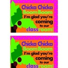 Chicka Chicka, Boom Boom Postcard - Freebie!