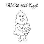 Chicks, Chickens, Eggs, and Spring:  Literacy and Math Center Fun