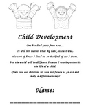 Child Development Course class management student workbook