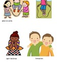 Childhood - clipart