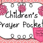 Children's Prayer Pocket