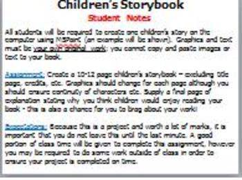 Children's Storybook Assignment