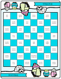 Chilly Checkers: Tier 2 Vocabulary Words