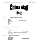 China and Chinese New Year unit plan with files!